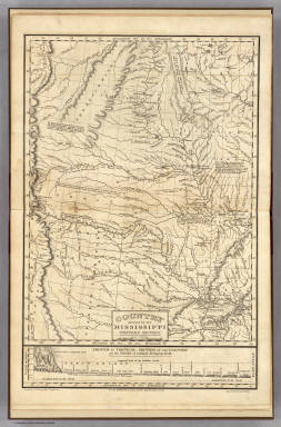 Country drained by the Mississippi Western Section. / Long, Stephen H. ; James, Edwin / 1823