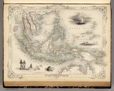 Malay Archipelago, Or East India Islands. / Martin, R.M. ; Tallis, J. & F. / 1851