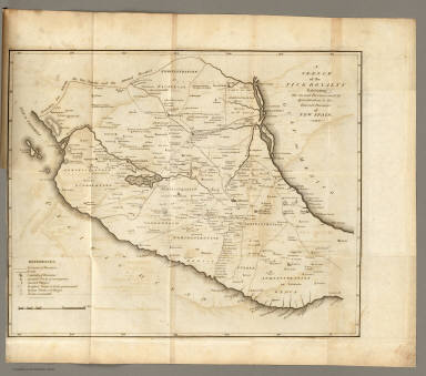 Sketch of the ... Internal Provinces of New Spain. / Pike, Zebulon Montgomery / 1810