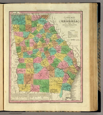 New map of georgia tanner henry s 1836 gumiabroncs Gallery