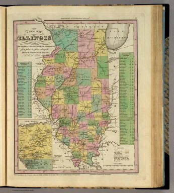 New map of illinois tanner henry s 1836 gumiabroncs Image collections