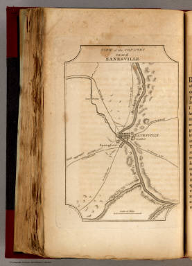 View of the Country round Zanesville. / Melish, John / 1812
