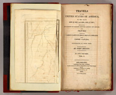 Title Page: Travels in the United States of America. / Melish, John / 1812