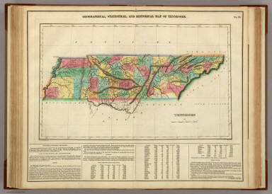 Map Of Tennessee. / Carey, H. C. ; Lea, I. / 1822