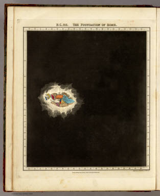 B.C. 753. The Foundation Of Rome. / Quin, Edward / 1830