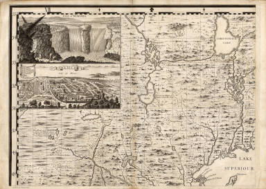 A Map of the British Empire in America. (Sheet 1). / Popple, Henry / 1733