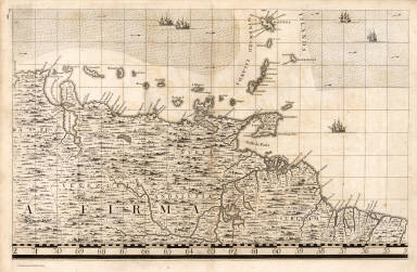A Map of the British Empire in America. (Sheet 19). / Popple, Henry / 1733