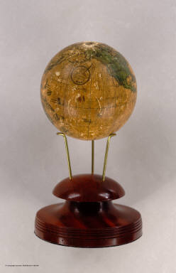 (Untitled Terrestrial Globe). Made by David C. Murdock, West Boylston, Mass.