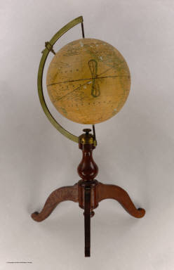 Perce's Magnetic Globe Pat. Mch. 15th 1864 by Elbert Perce, New York, Charles Scribner & Co. 654, Broadway.