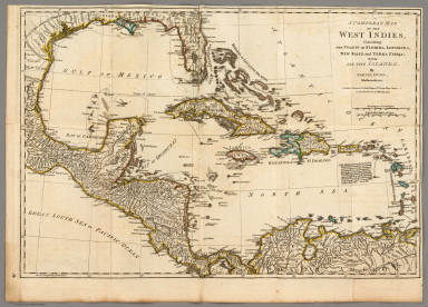 Compleat map of the west indies robert sayer and john bennett a compleat map of the west indies robert sayer and john bennett firm 1776 gumiabroncs Choice Image