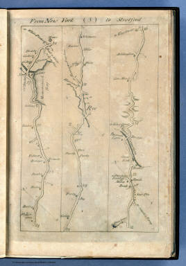From New York to Stratford. (3) / Colles, Christopher / 1789