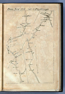 From New York to Poughkeepsie. (10) / Colles, Christopher / 1789