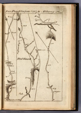 From Poughkeepsie to Albany. (22) / Colles, Christopher / 1789