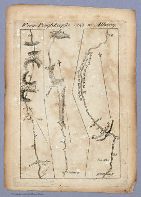 From Poughkeepsie to Albany. (24) / Colles, Christopher / 1789