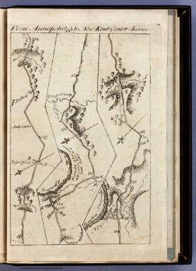 From Annapolis to New Kent Court-house (74). / Colles, Christopher / 1789