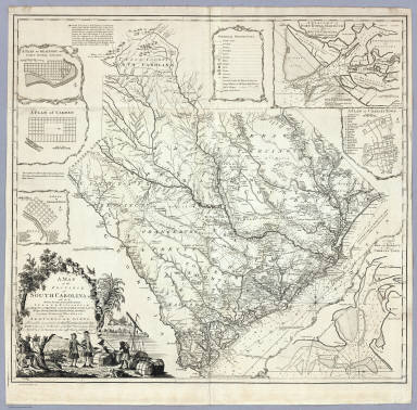 A Map of the Province of South Carolina. / Cook, James / 1773