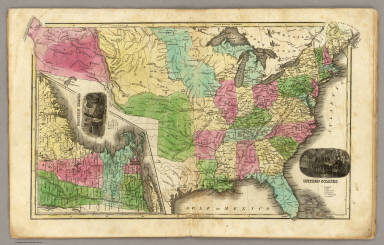 United States. (with) Eastern States. / Smiley, Thomas T. / 1842