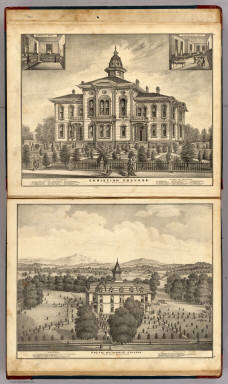 Christian College and Pacific Methodist College. / Thompson, Thos. H. / 1877