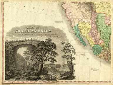 North America...S.W. Sheet. / Tanner, Henry S. / 1823
