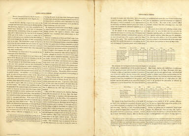 (Geographical Memoir, pgs. 6-7 in) A New American Atlas. / Tanner, Henry S. / 1823
