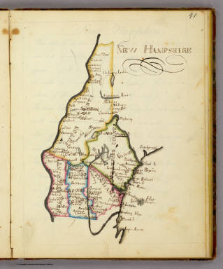 New Hampshire. / Henshaw, Frances H. / 1828