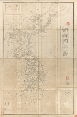 Manshu chizu. [after 1868]