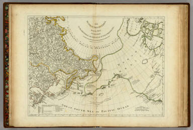 The Russian Discoveries, from the Map Published by the Imperial Academy of St. Petersburg. London, Printed for Robt. Sayer, Map & Printseller, No. 53 in Fleet Street. Published as the Act directs March 2d, 1775.