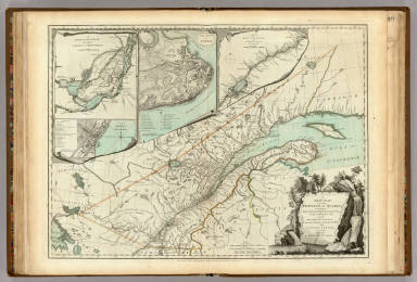 New Map Of The Province of Quebec. / Jefferys, Thomas / 1776