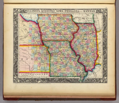 map of illinois and missouri