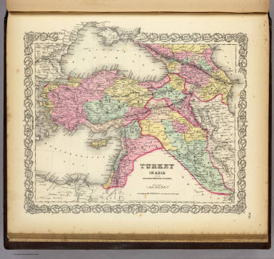 Turkey In Asia And The Caucasian Provinces Of Russia. / Colton, G.W. / 1856