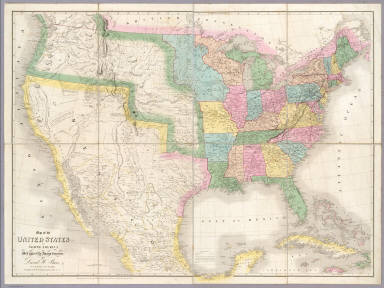 Of The United States Of North America Burr David H - 1803 map of us