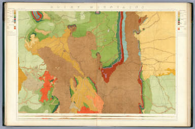 Rocky Mountains. Map I. (Geological)