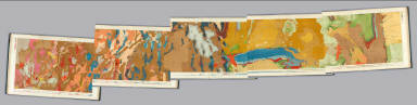 Composite: Geological maps I-V, 40th Parallel Survey. / King, Clarence / 1876