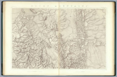 Rocky Mountains. (Topographical) / King, Clarence / 1876