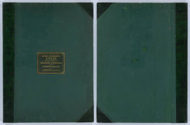 (Covers to) Engineer Department U.S.A. Geological and Topographical Atlas Accompanying the Report of the Geological Exploration of the Fortieth Parallel Made by the Authority of the Honorable Secretary of War under the direction of Brig. and Brvt. Major General A.A. Humphreys, Chief of Engineers U.S.A. by Clarence King, U.S. Geologist in Charge, 1876. Julius Bien Lith.