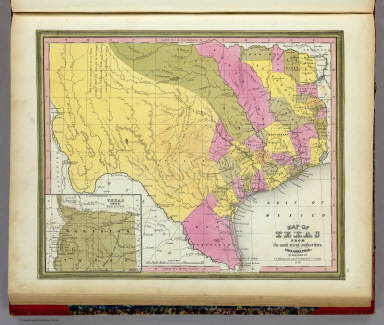 Map of texas mitchell samuel augustus 1846 gumiabroncs Image collections