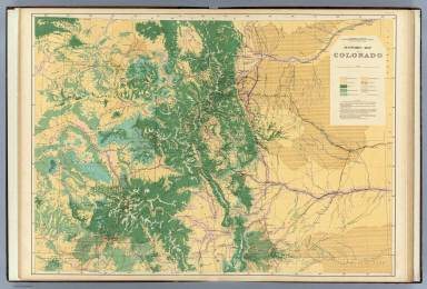 Economic Map of Colorado. Department of the Interior, U.S. Geological and Geographical Survey of the Territories, F.V. Hayden, U.S. Geologist in Charge. Sheet III.