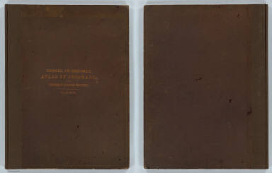 (Covers to) Department Of The Interior. United States Geological And Geographical Surveys Of The Territories. Geological And Geographical Atlas Of Colorado And Portions Of Adjacent Territory By F.V. Hayden, U.S. Geologist In Charge. Corrected To Date And Printed In Accordance With An Act Of Congress Approved February 9th 1881. Julius Bien, Lith.