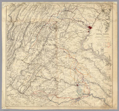 Central Virginia Map.Browse All Images Of Central Virginia David Rumsey Historical
