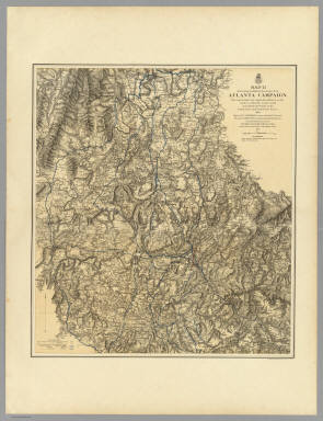 Military Operations of the Atlanta Campaign. / U.S. War Department, Chief of Engineers / 1877