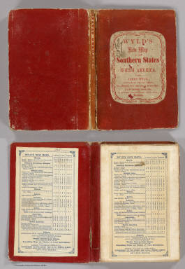 Cover: Southern States of North America. / Wyld, James, 1812-1887 / 1865