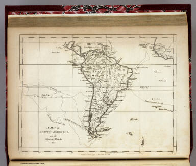 South America and the Adjacent Islands. / Morse, Jedidiah / 1794