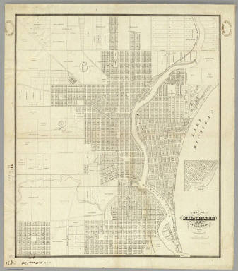 Of Milwaukee Lapham I A 1856