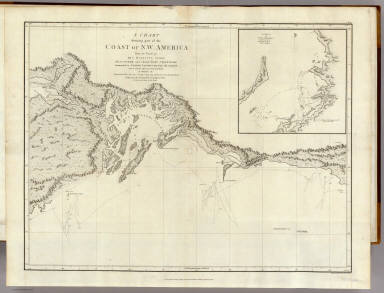The Coast of N.W. America. / Vancouver, George, 1757-1798 / 1798