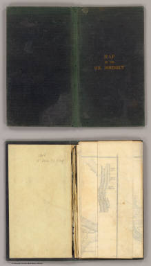 Cover: Oil District Venango, Crawford & Warren Counties, Pennsylvania. / Root, R.C., Anthony & Co. / 1864