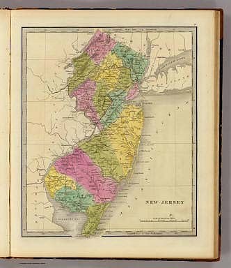 New-Jersey. / Greenleaf, Jeremiah / 1840