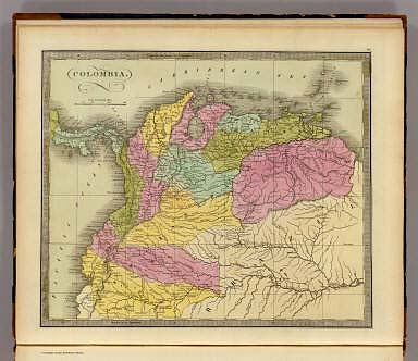 Colombia. / Greenleaf, Jeremiah / 1840