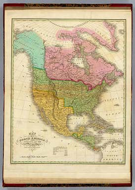 Map of North America Including All The Recent Geographical Discoveries. 1826. / Finley, Anthony / 1826