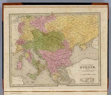 Southern & Middle Europe, including Germany, Austria, Prussia, Switzerland, Italy, Greece, Turkey. Engraved by G.W. Boynton. Entered ... 184 by S.G. Goodrich ... Massachusetts.