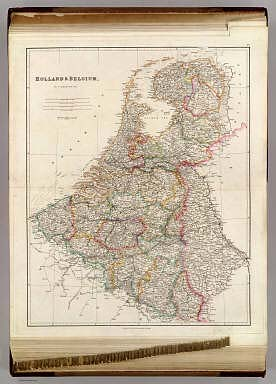 Holland & Belgium, By J. Arrowsmith. (Map) 10. London, Pubd. 15 Feby. 1842, by J. Arrowsmith, 10 Soho Square.
